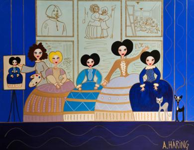 Matildas Meninas|PinturadeÁngela Fernández Häring| Compra arte en Flecha.es