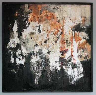 Macrocosmos|PinturadeInes Capella| Compra arte en Flecha.es