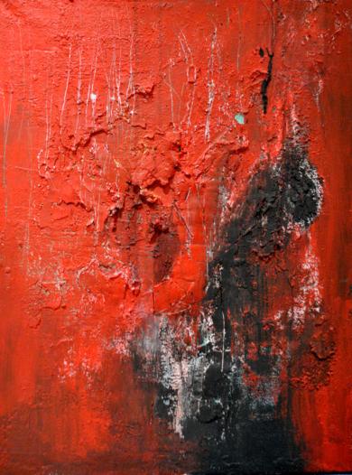 Volcano|PinturadeInes Capella| Compra arte en Flecha.es