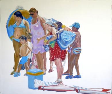 Ya le toca|PinturadeJESÚS MANUEL MORENO| Compra arte en Flecha.es