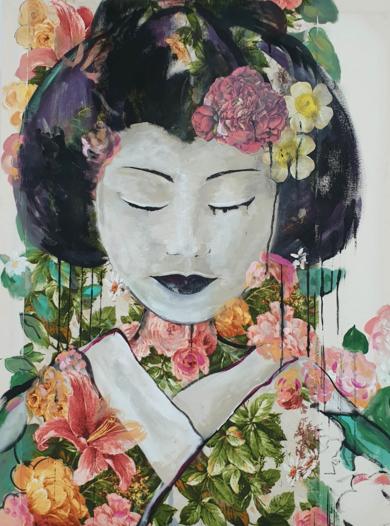 Bajo el sol de Osaka|CollagedeANA  SOLER   FERNÁNDEZ| Compra arte en Flecha.es