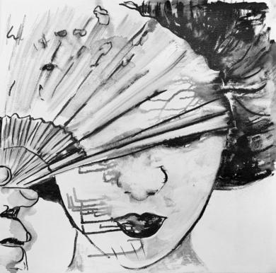 Tinta  XI|DibujodeANA  SOLER   FERNÁNDEZ| Compra arte en Flecha.es