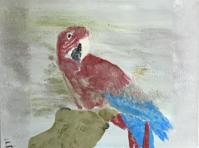 Loro|PinturadeEnric Correa| Compra arte en Flecha.es