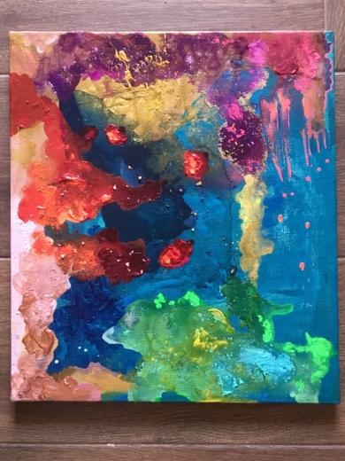 Astros|PinturadeÁngeles Romo| Compra arte en Flecha.es