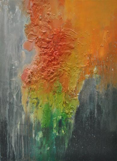 Tierra|PinturadeInes Capella| Compra arte en Flecha.es