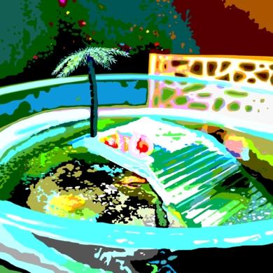Una isla del Caribe|DibujodeALEJOS| Compra arte en Flecha.es