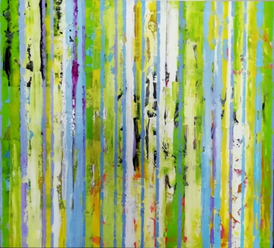 The Song of color|PinturadeFrancisco Santos| Compra arte en Flecha.es