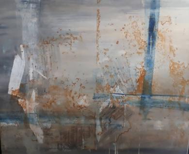 Lineas en el mar|PinturadeMaria San Martin| Compra arte en Flecha.es