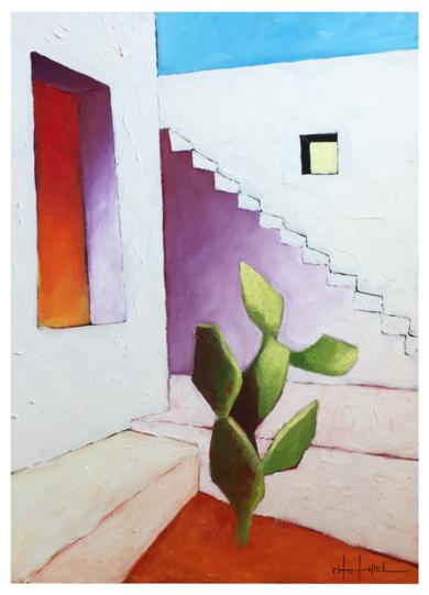 Cactus|Obra gráficadeVito Thiel| Compra arte en Flecha.es
