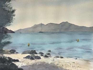 Pollença|PinturadeChela Grijelmo| Compra arte en Flecha.es