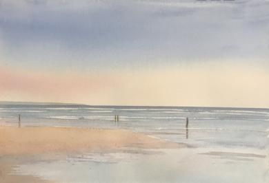 Playa 1|PinturadeChela Grijelmo| Compra arte en Flecha.es