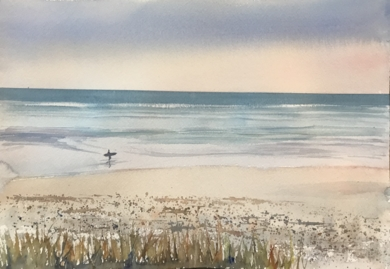 Playa 2|PinturadeChela Grijelmo| Compra arte en Flecha.es