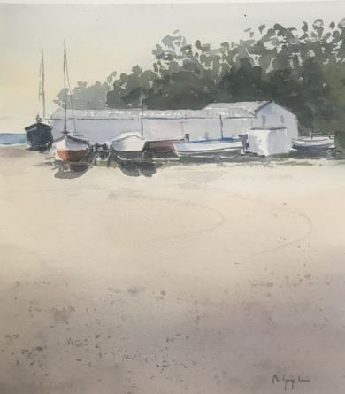 Marina seca|PinturadeChela Grijelmo| Compra arte en Flecha.es