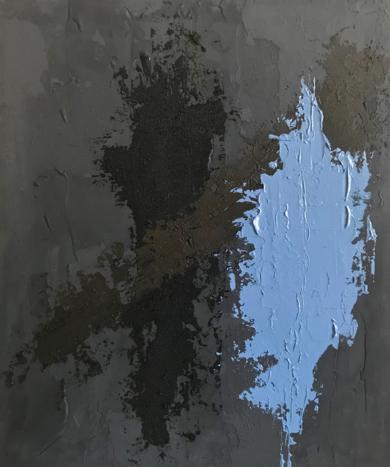 TIERRA Y AZUL|PinturadeALFREDO MOLERO DOVAL| Compra arte en Flecha.es