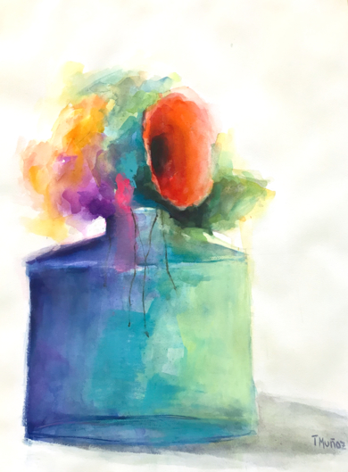 Jardines Imaginarios XXII|PinturadeTeresa Muñoz| Compra arte en Flecha.es