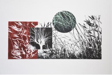 El bosque translúcido 2|Obra gráficadeJosep Pérez González| Compra arte en Flecha.es