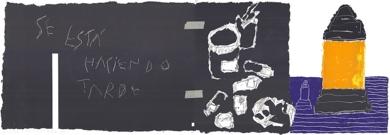 Se está haciendo tarde|DibujodeAlberto Corazón| Compra arte en Flecha.es