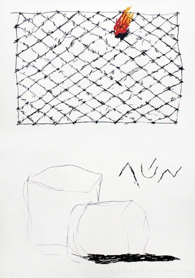 Aún|DibujodeAlberto Corazón| Compra arte en Flecha.es