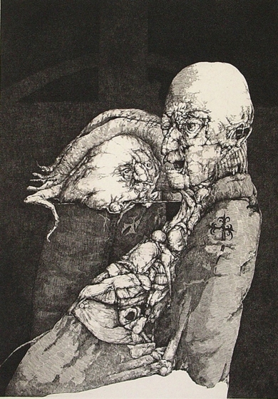 Malestar Heredado|Obra gráficadeJosé Hernández| Compra arte en Flecha.es