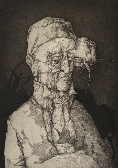 El espectador|Obra gráficadeJosé Hernández| Compra arte en Flecha.es