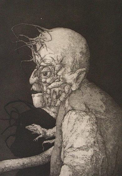 Espectro del Miedo|Obra gráficadeJosé Hernández| Compra arte en Flecha.es