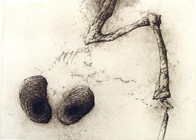 Disparate de Fuendetodos|Obra gráficadeJosé Hernández| Compra arte en Flecha.es