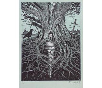 El Testamento de Don Quijote (IV)|DibujodeFrançois Marechal| Compra arte en Flecha.es