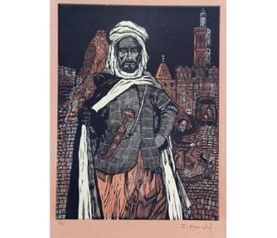 El Testamento de Don Quijote (VI)|DibujodeFrançois Marechal| Compra arte en Flecha.es