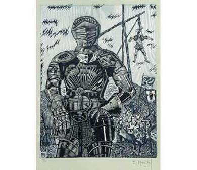 El Testamento de Don Quijote (IX)|DibujodeFrançois Marechal| Compra arte en Flecha.es