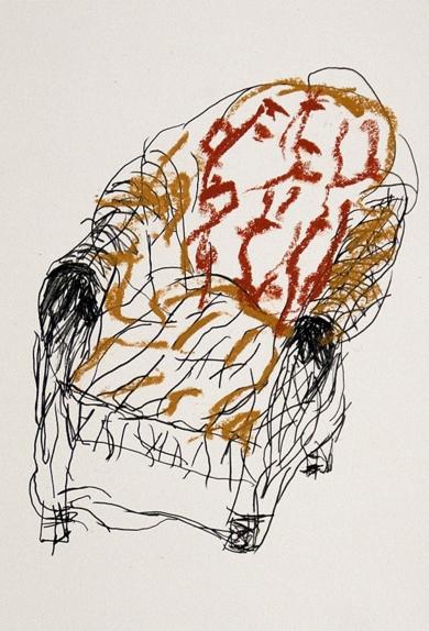 El Acantilado del Tren Mineral (I)|DibujodeAlberto Corazón| Compra arte en Flecha.es
