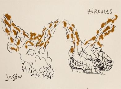El Acantilado del Tren Mineral (III)|DibujodeAlberto Corazón| Compra arte en Flecha.es