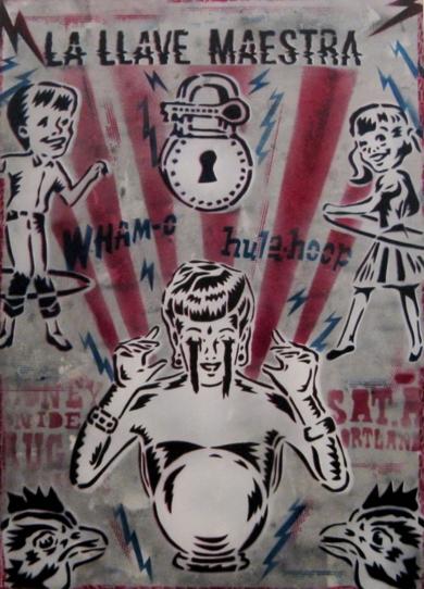 La LLave Maestra|IlustracióndeCarlos Madriz| Compra arte en Flecha.es