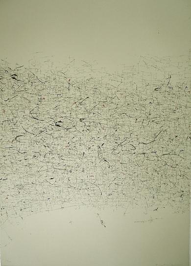 Grafismos sobre blanco|Obra gráficadeEnrique Brinkmann| Compra arte en Flecha.es