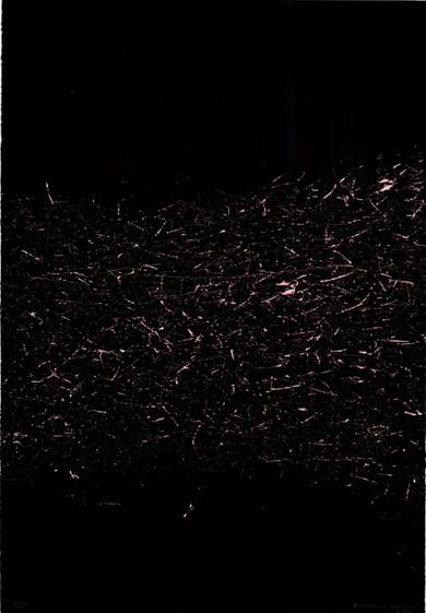 Grafismos Sobre Fondo Negro|Obra gráficadeEnrique Brinkmann| Compra arte en Flecha.es