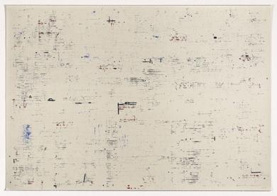 Textos con Manchas de Tinta|Obra gráficadeEnrique Brinkmann| Compra arte en Flecha.es