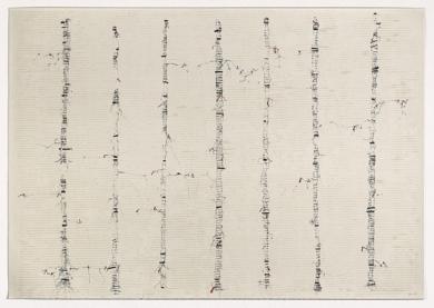 Siete Líneas|Obra gráficadeEnrique Brinkmann| Compra arte en Flecha.es