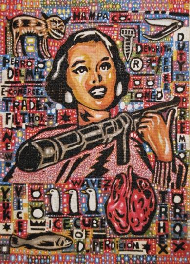 Devorita|PinturadeCarlos Madriz| Compra arte en Flecha.es
