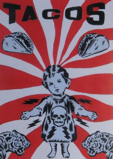 Tacos I|Obra gráficadeCarlos Madriz| Compra arte en Flecha.es