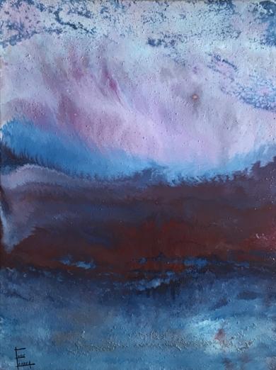 Tormenta en el mar|PinturadeEnric Correa| Compra arte en Flecha.es