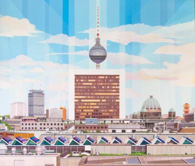 Berlín|PinturadeLuis Monroy Esteban| Compra arte en Flecha.es