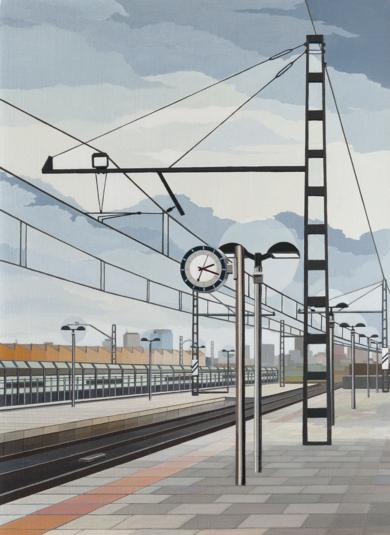 Espera|PinturadeLuis Monroy Esteban| Compra arte en Flecha.es