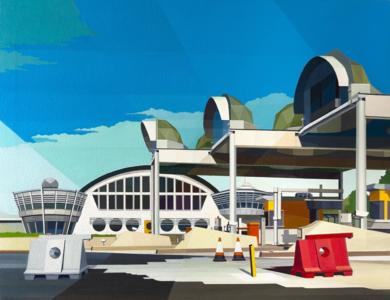 Peaje a Bilbao|PinturadeLuis Monroy Esteban| Compra arte en Flecha.es