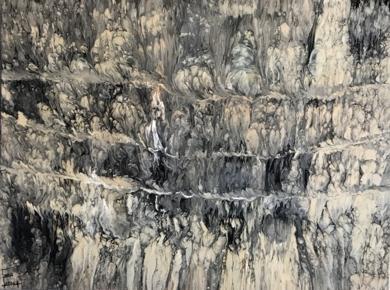 Pintura marmolada|PinturadeEnric Correa| Compra arte en Flecha.es