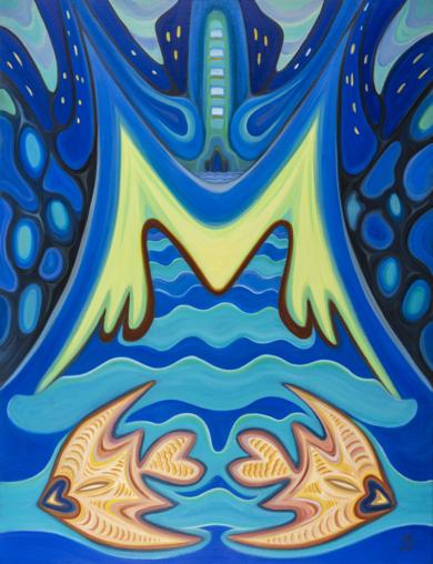Aquatic Fantasy|PinturadeHelena Revuelta| Compra arte en Flecha.es