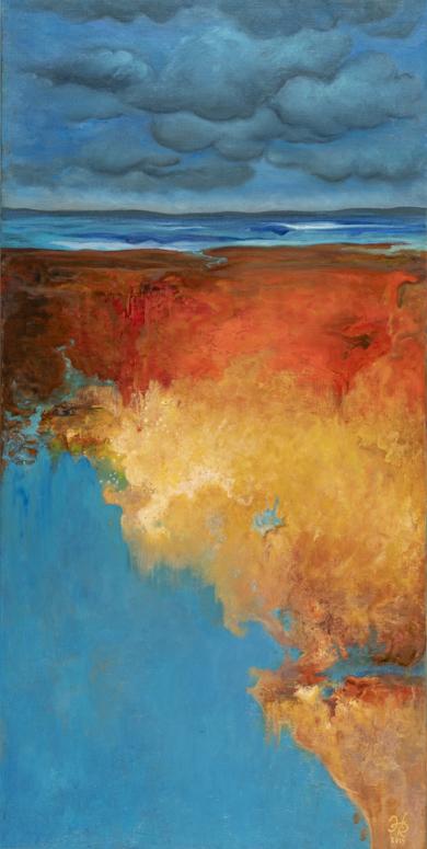 Abismo 3|PinturadeHelena Revuelta| Compra arte en Flecha.es