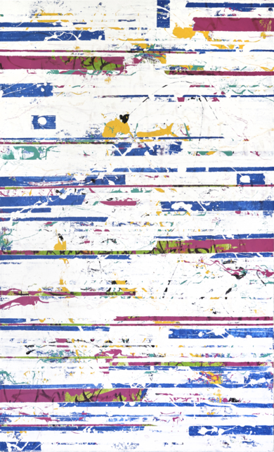 WHITE GLITCH|PinturadeAna Dévora| Compra arte en Flecha.es