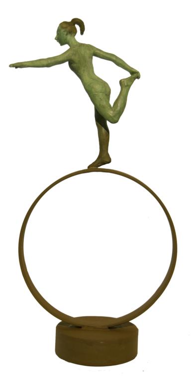 Equilibrio - circular|EsculturadeCharlotte Adde| Compra arte en Flecha.es