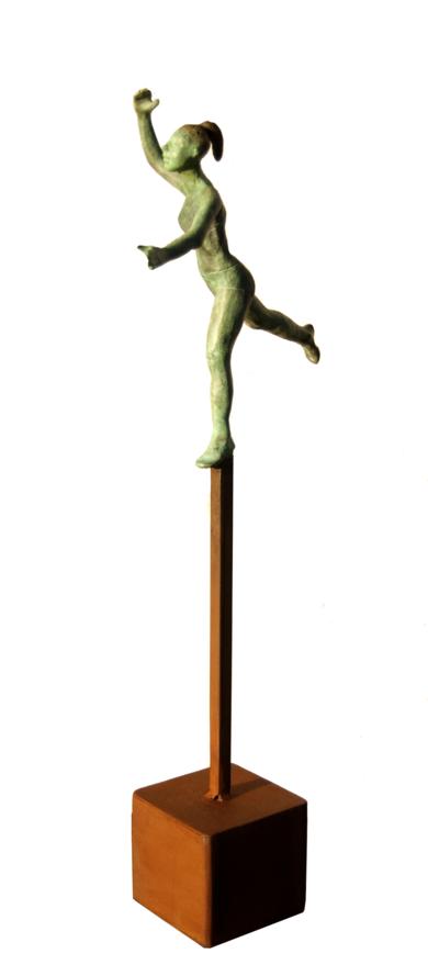 Equilibrio - cubo|EsculturadeCharlotte Adde| Compra arte en Flecha.es
