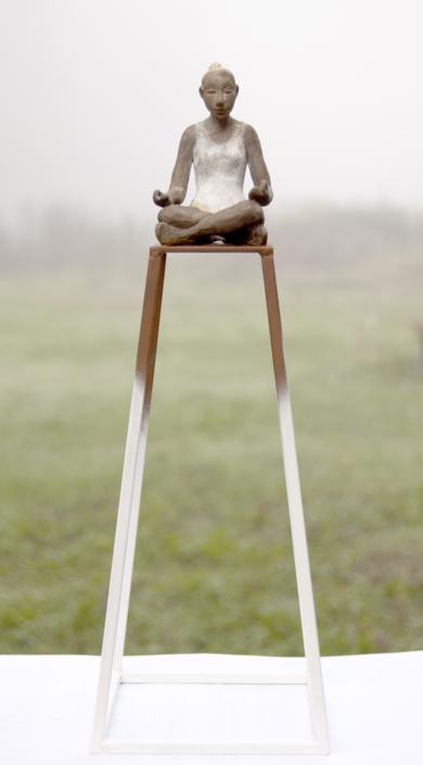 Meditación|EsculturadeCharlotte Adde| Compra arte en Flecha.es