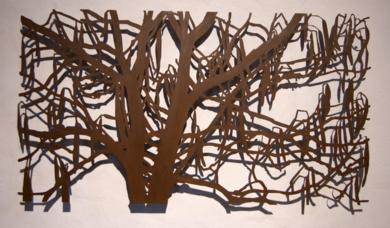 Gleditsia|EsculturadeCharlotte Adde| Compra arte en Flecha.es